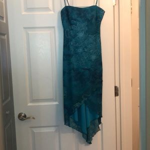 Thin strapped summer dress